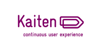 Kaiten logo et baseline