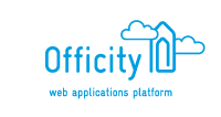Officity logo and baseline